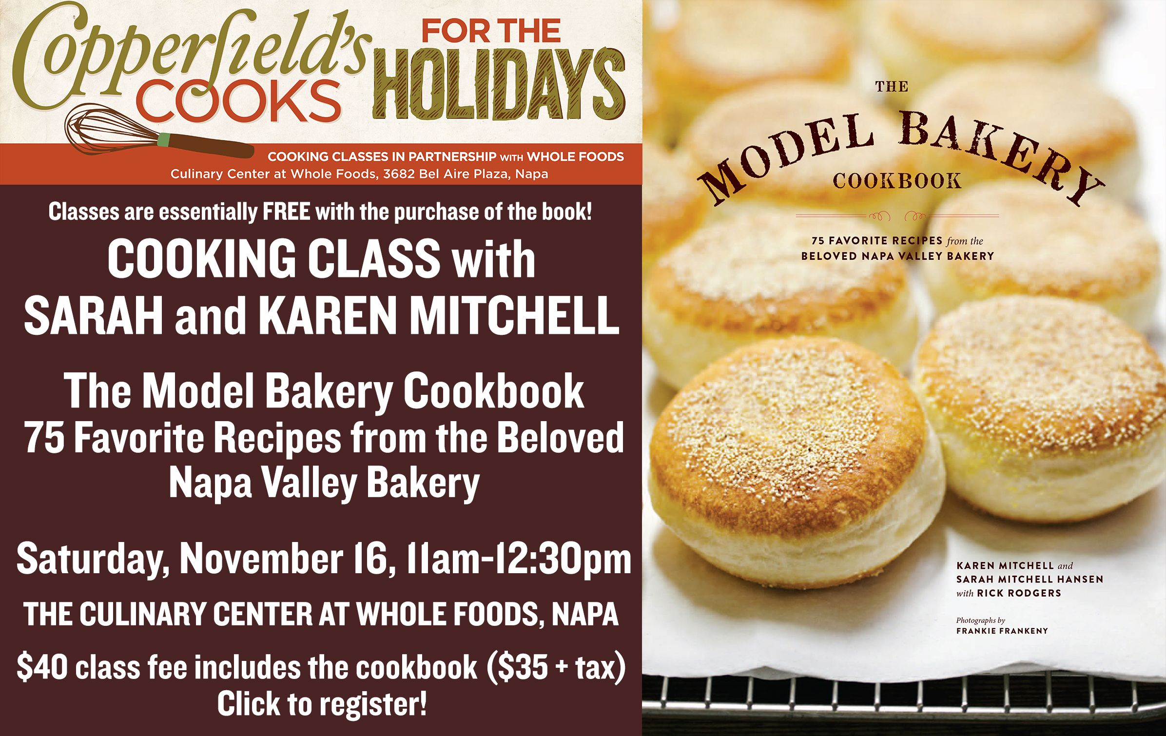 Model Bakery Cooking Class