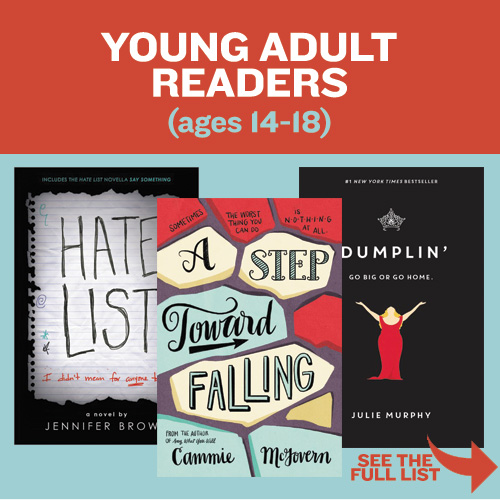 Young Adult Readers - ages 14-18